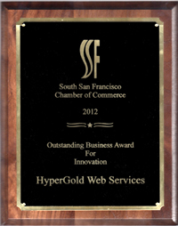 Innovation Award from SSF Chamber of Commerce